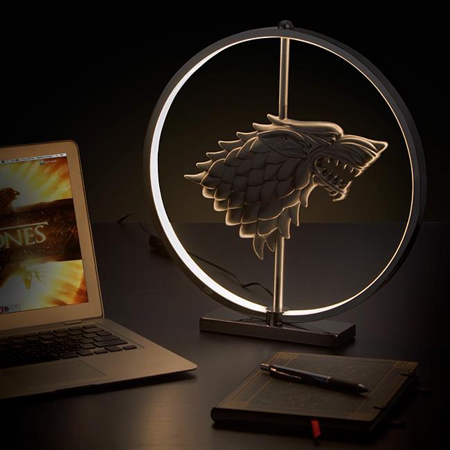 lampada led trono di spade
