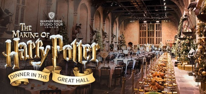 cena di natale ad hogwarts